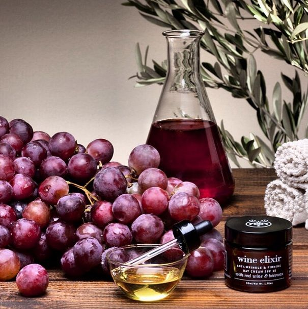Revealing the power of #RedWine in #skincare! #WineElixir for #firming & #regeneration ! Anti-wrinkle, firming day cream with red wine rich in resveratrol and beeswax. Moisturizes in depth, prevents from sun and rejuvenates skin and spirit. Red wine rich in Resveratrol reduces the number and extend of even the deepest wrinkles. Lupine and beeswax firm the skin and improve its texture and elasticity. Natural plant oils, oat and lecithin intensively hydrate and nourish the skin.