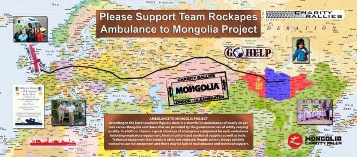 Welcome to Teamrockape - Ambulance to Mongolia Project
