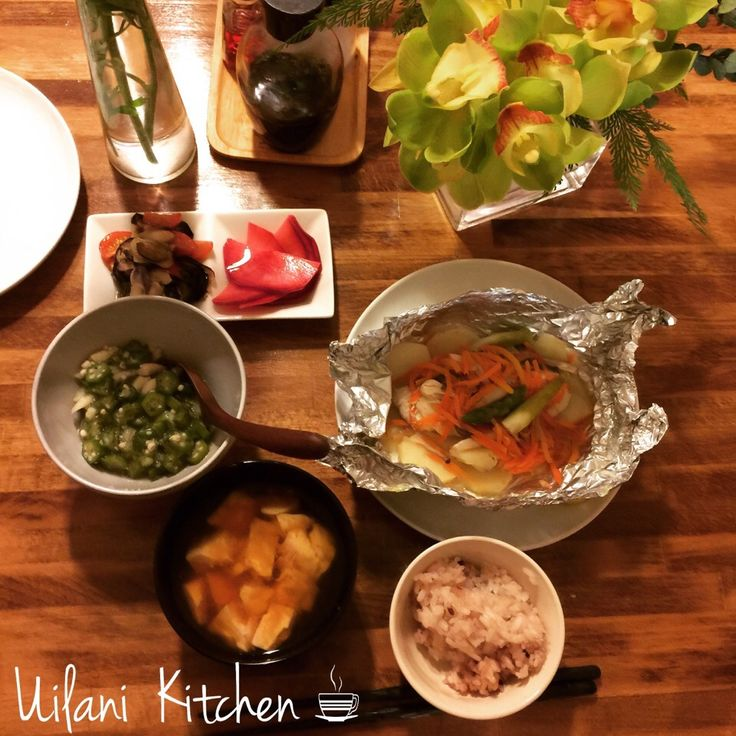 yukie uilanikitchen's dish photo ホイル包み焼き | http://snapdish.co #SnapDish #晩ご飯