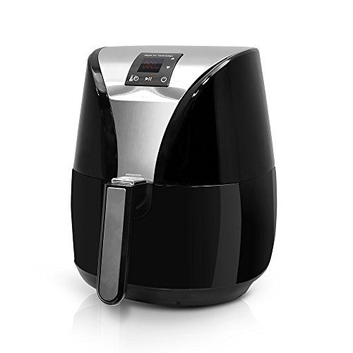 NutriChef Electric Air Fryer - Low Fat Oilless and Healthy Deep Fryer Machine - Features Digital Display, Auto Timer and 4 Liter Basket - Black NutriChef http://www.amazon.com/dp/B013FDO8V0/ref=cm_sw_r_pi_dp_K98Qwb1HG7BD5