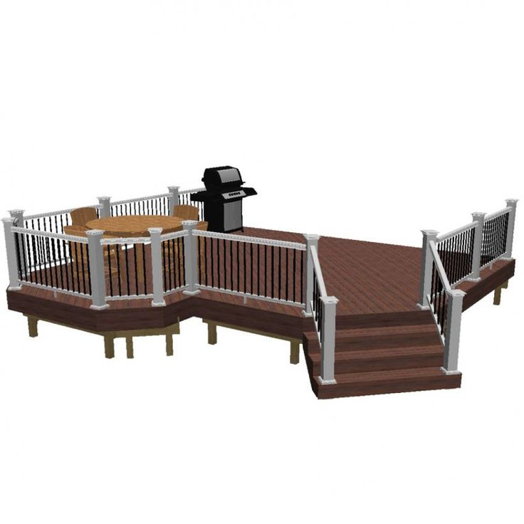 Experiment with our fun, free online deck design software tool to create a custom 3D realistic view of a deck to inspire your next outdoor living project.