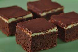 Fudge mint brownies - I've actually made these before for work Christmas parties.  Very yummy!