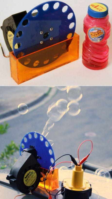Машина для производства мыльных пузырей