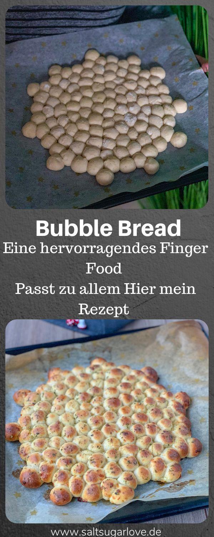 Bubble Bread Finger Food Ein muss auch für jede Veranstaltung / Party