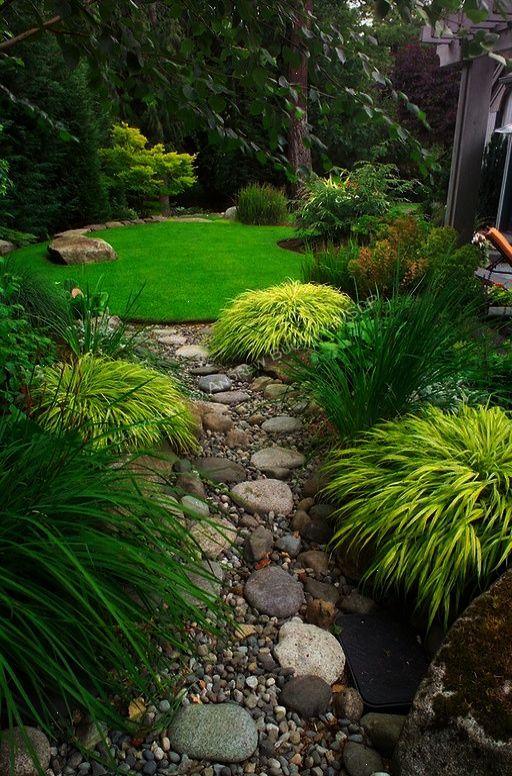 Traditional Landscape Yard With Exterior Stone Floors Trellis Spring Hill Nurseries Golden Hakone Small Japanese Garden Japanese Garden Design Japanese Garden
