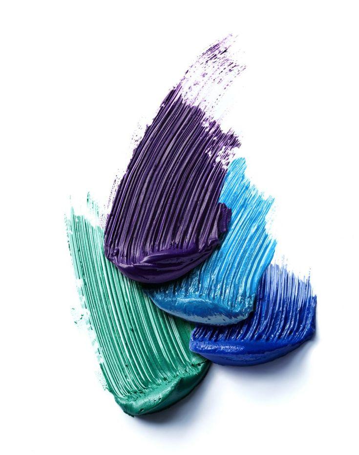 thick products with defined brush stroke texture, anologous colour scheme Cest la vie - Camille - Still Life