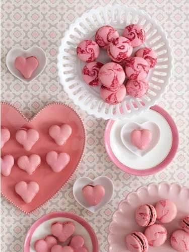 dainties: Cake, Macaroons, Heart, Sweet, Valentines, Pink, Peggy Porschen, Valentine S