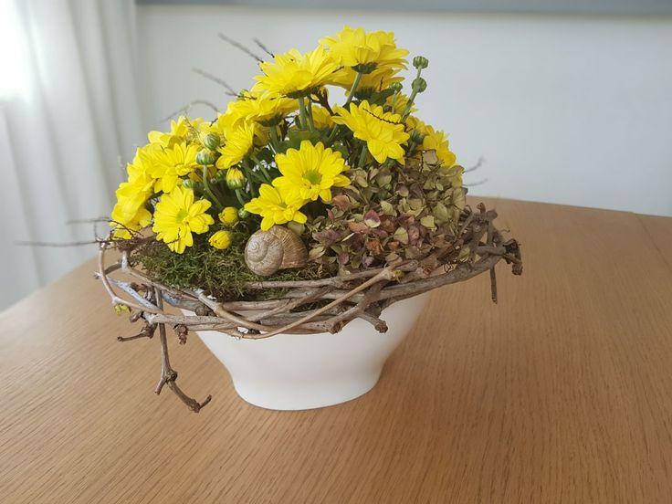 Chryzantemy dekorace kvetiny