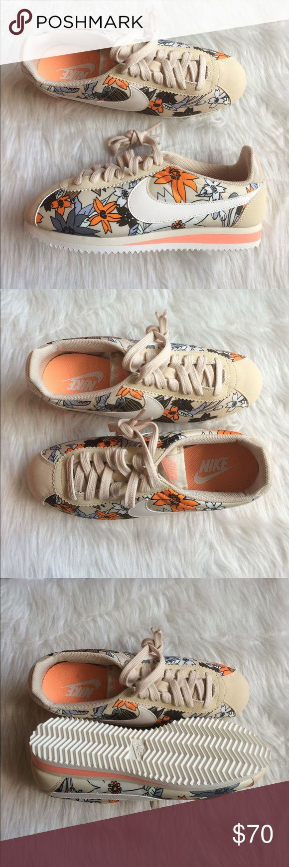 NIKE CORTEZ WOMENS FLORAL PRINT PREMIUM SHOES NEW Brand new without box. Ships same day or very next. 100% authentic. Comment if you have any questions before purchasing. WOMENS. Nike Shoes Sneakers
