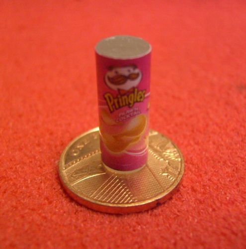 Dolls House Miniature Tube of Prawn Cocktail Crisps | eBay