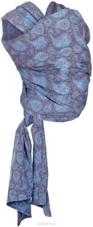 """Mum's Era Слинг-шарф Пейсли цвет коричневый синий  — 3507р. ---- Слинг-шарф Mum's Era """"Пейсли"""" можно использовать с рождения малыша. Слинг-шарф - замечательный помощник для молодой мамы: освобождает руки, создает близкий контакт с малышом, позволяет покормить незаметно для окружающих, прекрасно успокаивает и усыпляет малыша. Это удобная, безопасная и универсальная переноска для детей, она имеет множество положений, что позволяет выбрать то, что подойдет именно вам! Слинг-шарф выполнен из…"""