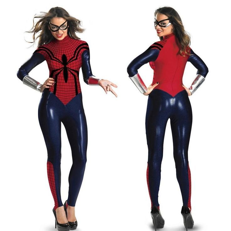 Catwoman Faux Leather Wetlook Spiderman Jumpsuit Catsuit Body Suit Fancy Dress #new #Catsuit - visit to grab an unforgettable cool 3D Super Hero T-Shirt!