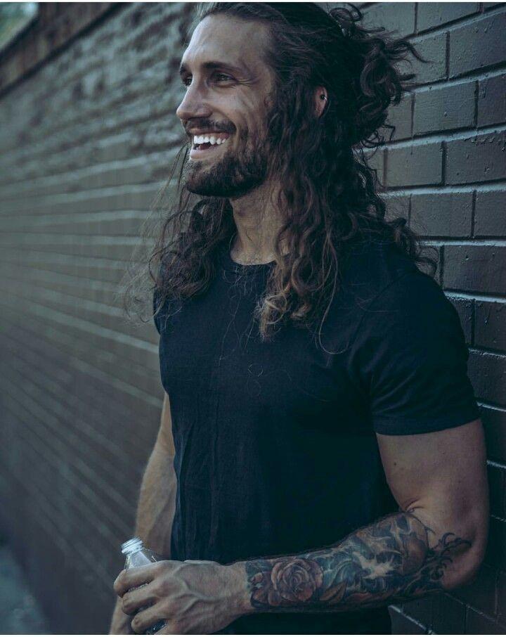 Pin By Aaron Tyler On Beards Hair Mens Ponytail Hairstyles Man Ponytail Long Hair Styles Men