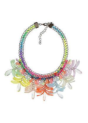 Colourful Ribbon Necklace #kaleidoscope #new #fashion #spring