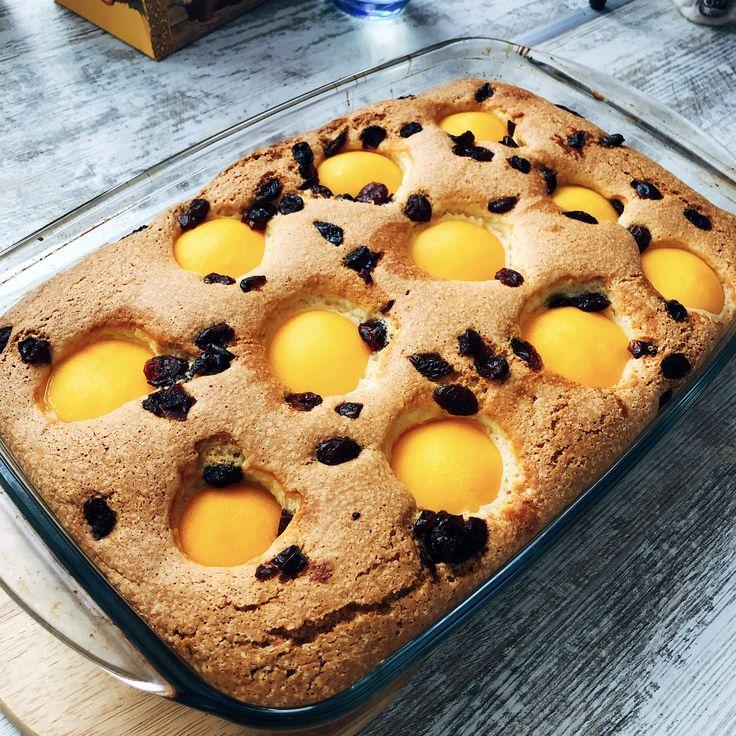 том, как идеальный бисквит с персиками рецепт фото форум