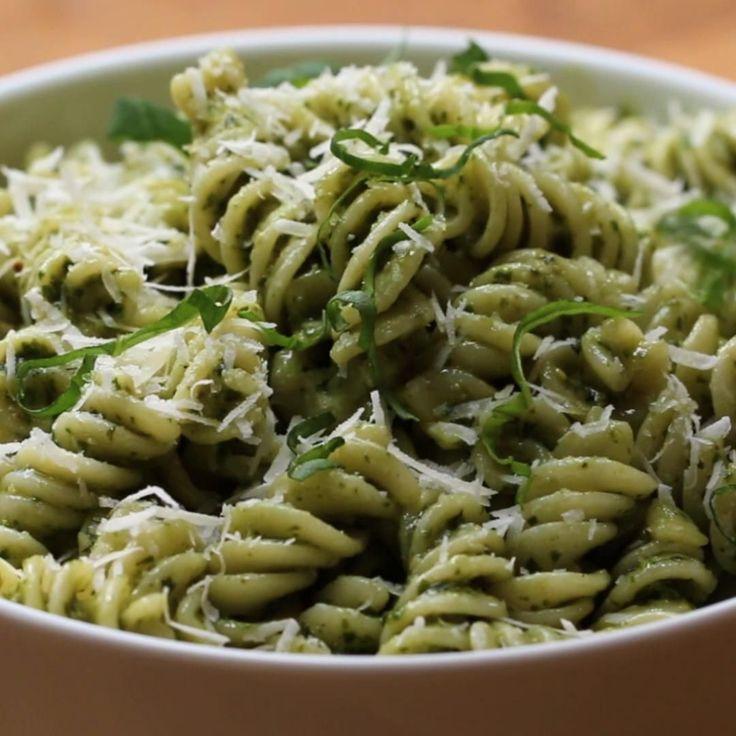 Pesto Twist Pasta Recipe by Tasty
