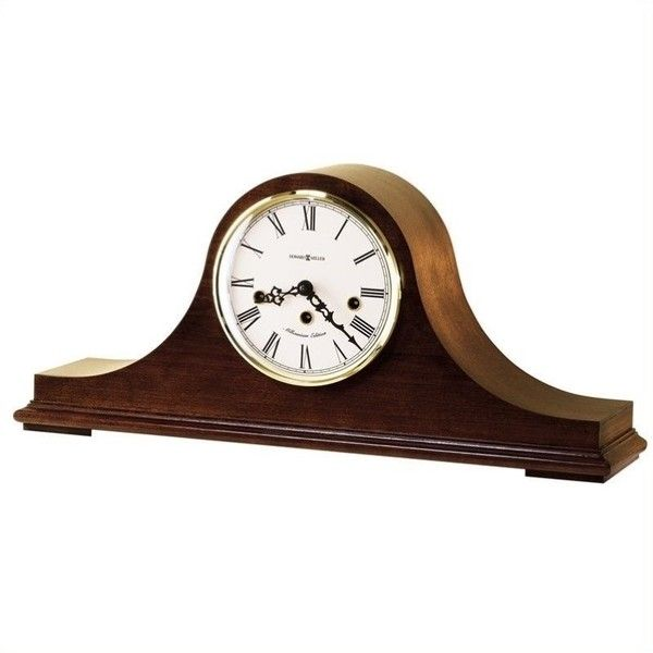 Howard Miller Mason Key Wound Mantel Clock (1,040 CAD) ❤ liked on Polyvore featuring home, home decor, clocks, chiming mantel clocks, mantel-clock, hand clock, howard miller clocks and howard miller desk clock