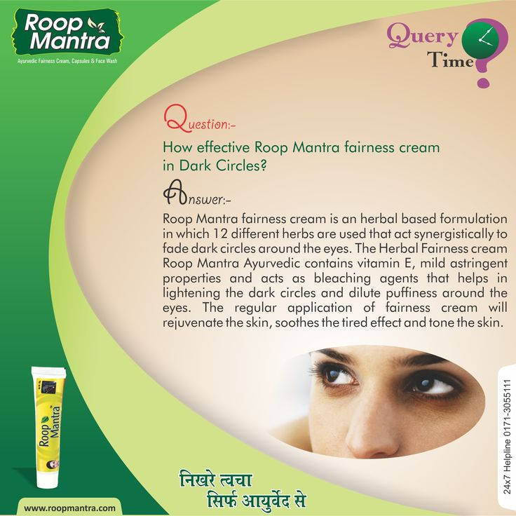 #RoopMantra #QueryTime  How effective Roop Mantra fairness cream in dark circles?