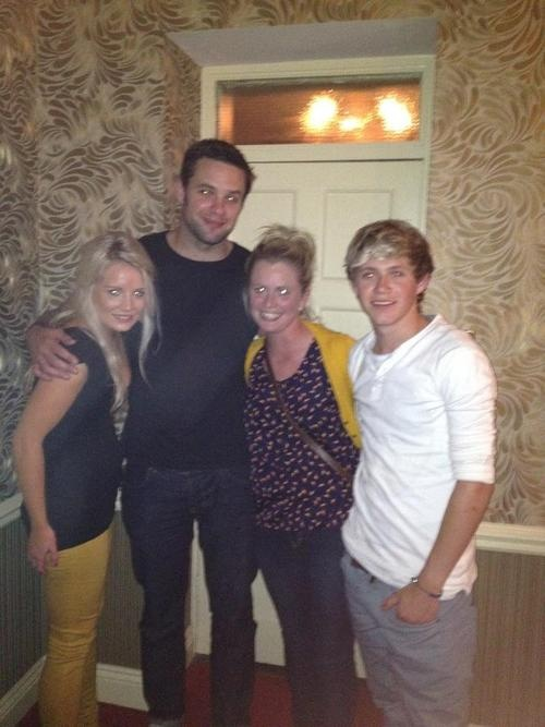 Niall in Mullingar with Bressie and friends.
