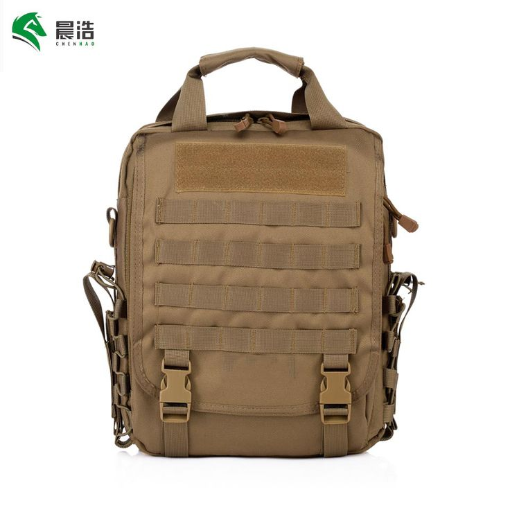CHENHAO Military Laptop Backpack 1000D Molle Backpack Waterproof Outdoor Riding Travel Laptop Rucksack Adjustable Military Bag