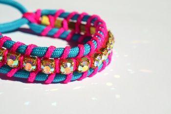 Swarovski Crystal Friendship Bracelet http://www.kollabora.com/projects/swarovski-crystal-friendship-bracelet