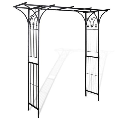 Vidaxl Arche de jardin 200cm en hauteur - pas cher Achat / Vente Pergola - RueDuCommerce