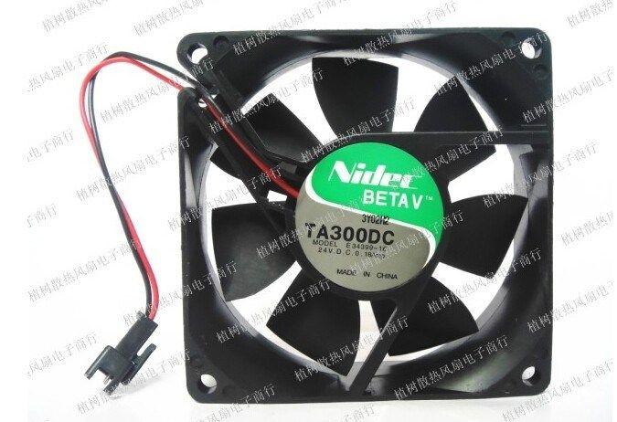 Original Nidec 8 Cm 8025 24v 0 18amp E34399 16 2 Line Converter