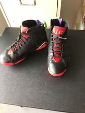 Nike Air Jordan VII 7 Retro Black/Red-Green Marvin The Martian 304775-029 SZ 8.5