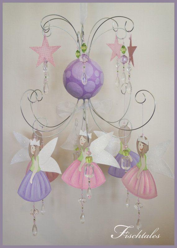 Fairy Baby Mobile Nursery Mobile Fairy Nursery Mobile