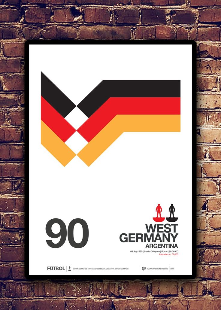 Image of WEST GERMANY. ARGENTINA - 1990