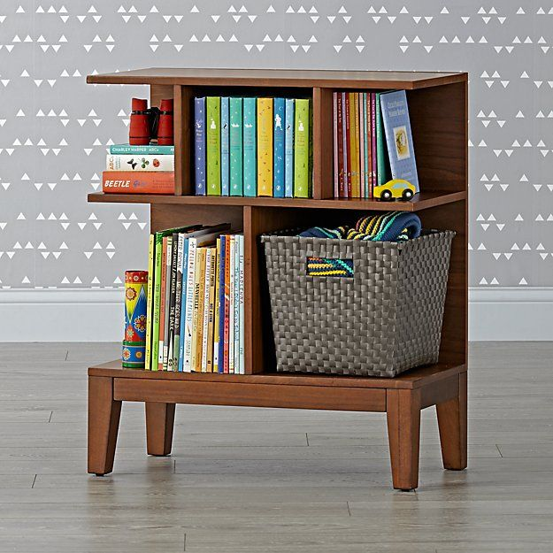 Sprout Small Walnut Bookcase | The Land of Nod