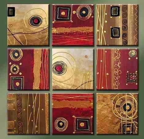 pinturitas...(eli padilla): Polipticos Abstractos y minimalistas