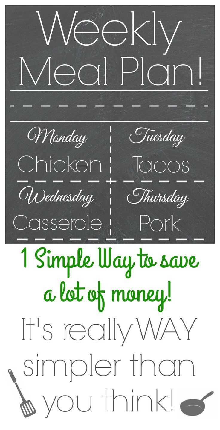 Ok, here's how to do it! Here's how to save a TON of money per month! It's really simple, it's really easy…. and I'll give you a hint: It has to do with FOOD! Ye…
