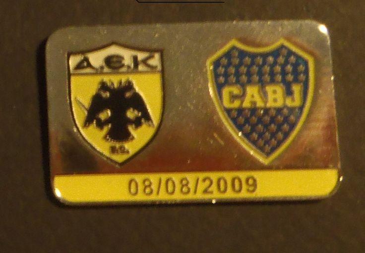 AEK-BOCA JUNIORS FRIENDLY MATCH 8-8-2009