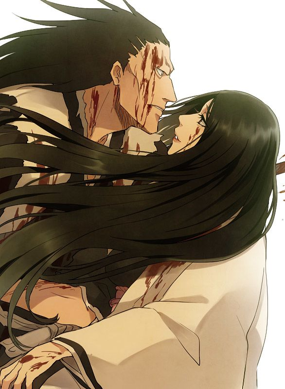 Kenpachi and Unohana~That was so sad