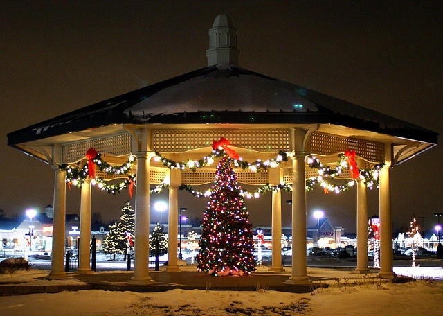 Best christmas gazebo images on pinterest cabana