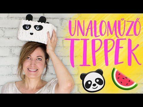 (30) Nyári unaloműző tippek 2. Rész – pandák, dinnyék, egyebek   INSPIRÁCIÓK Csorba Anitától - YouTube