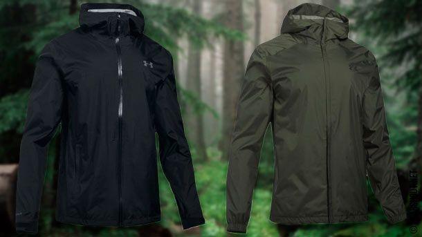 UA Storm Surge Waterproof и UA Storm Bora Jacket - водостойкие куртки от Under Armour