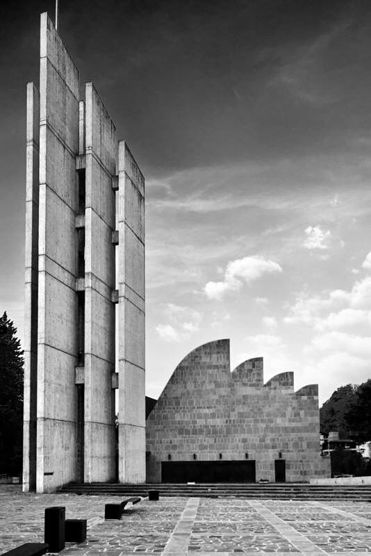 Church of the Assumption of Mary by Alvar Aalto. Bologna  Copyright Roberto Conte (2014)