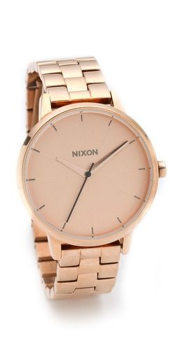 Nixon Kensington - rose gold