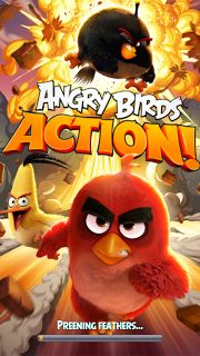 [FREE ANDROID GAME] Angry Birds Action! Save The Eggs From Evil Pig Pinball Bounce Everything