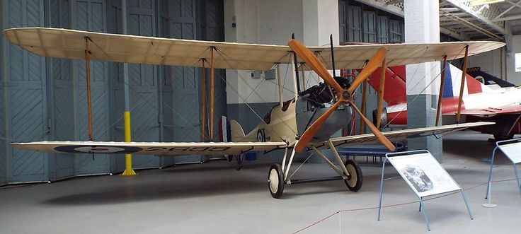 Royal Aircraft Factory BE2c 1916 Imperial War Museum Duxford