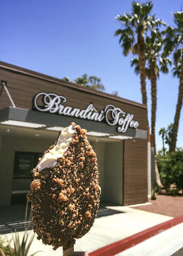 California Map Rancho Mirage%0A Keeping Cool at Brandini Toffee