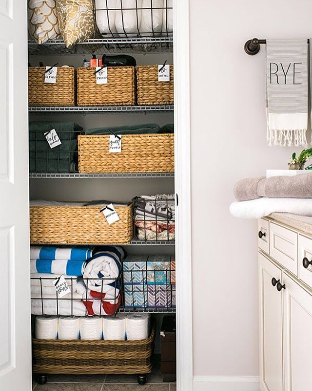 A Perfectly Organised Bathroom In One Day: 283 Best Images About Home