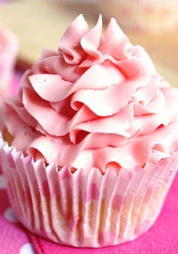 Różowe Cupcakes Cytrynowe