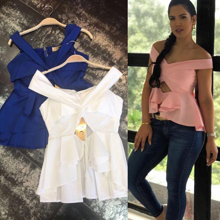 Blusa en Azul Rey y Blanco🔝Colección Amor & Amistad 2017 😍 WHASAP 📱3️⃣0️⃣1️⃣6️⃣0️⃣3️⃣0️⃣4️⃣1️⃣1️⃣ PRECIOS AL DIRECT 🔜 Estamos en Montería Calle 34 #3-53 ✈️ HACEMOS DOMICILIOS Y ENVÍOS a todo el pais 📦 Recibimos TODAS las 💳 #stylediaries #fashion #freespirit #fashionistas #shoppingonline #fashion #feminism #freespirit #fashionistas #fashionstyle #trend #trendy #coctel #camo #camuflado #casualstyle #urbanstyle #boho #bohemian #bohochic #bohostyle #street #europa #instafashion #gypsy…
