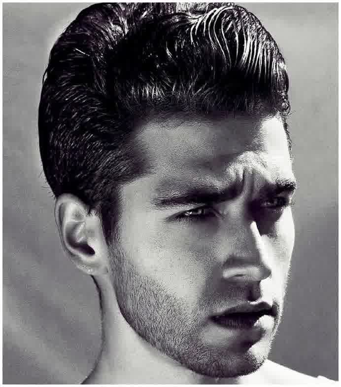Mens facial hair styles 1930 s and 1940 s think