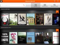 Bibliotekernes rigtig gode og inspirerende website litteratursiden.dk har udviklet en app. Med den kan du have litteratursidens anmeldelser lige ved hånden, når du går på biblioteket. Foreløbig kun til iPhone.