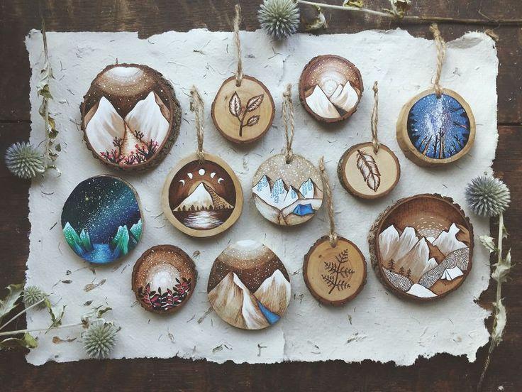 Ağaçların dibine düşen odun parçalarından mükemmel sanat eserleri yaratıyor | Gaia Dergi