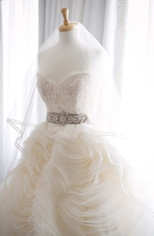 The Lazaro 3100 Wedding Dress - gorgeous!!